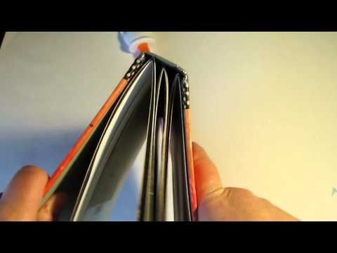 ? My First Altered Hard Cover Book - trying it out! - YouTube