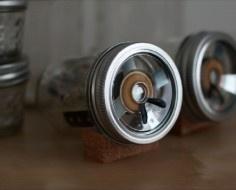 mason jars + iPhone = DIY Speakers