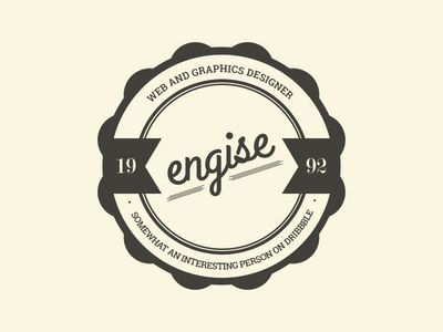 Engise - Web and Graphic Designer