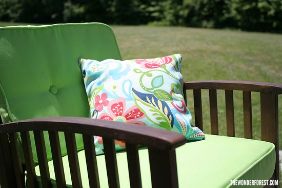 DIY: 5 minute pillow covers