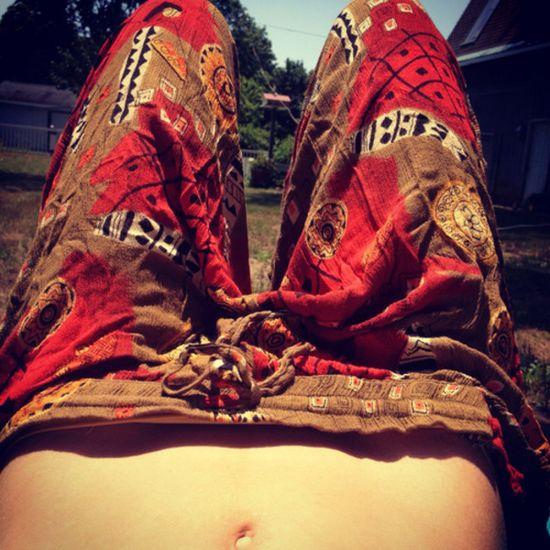 Loose bohemian pants