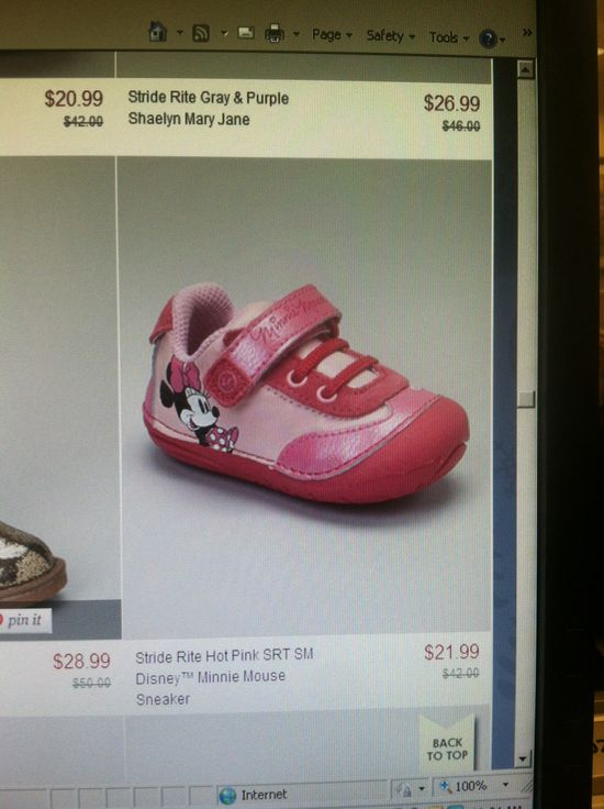 Girl shoes Minnie