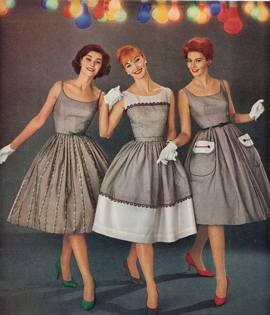 50's Housewife Dresses