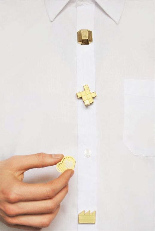 The Button Clips by Studio Swine