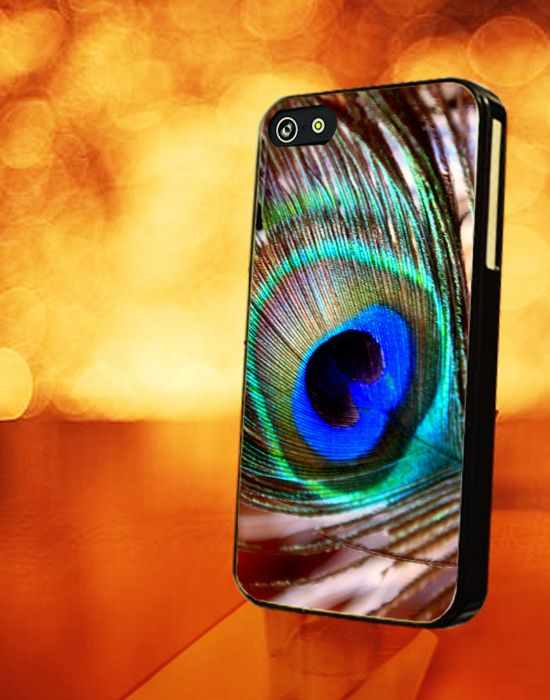 PEACOCK FEATHER SKIN - iPhone 4 Case, iPhone