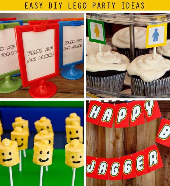 Easy #DIY #Lego Party Ideas