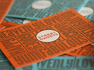 Street Sweets Business Cards