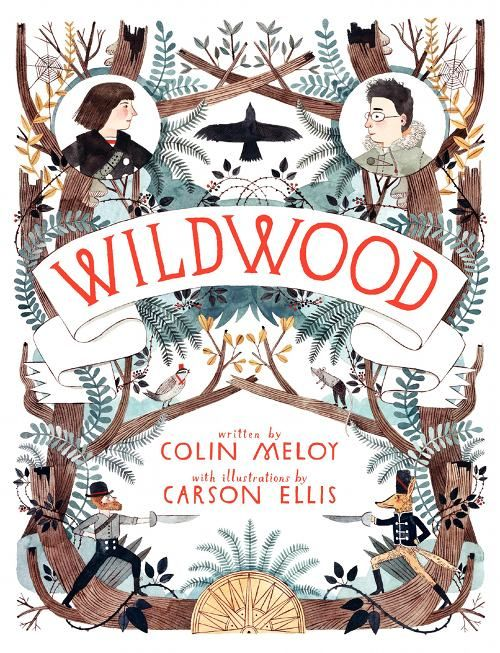 Colin Meloy's book. Want to read.