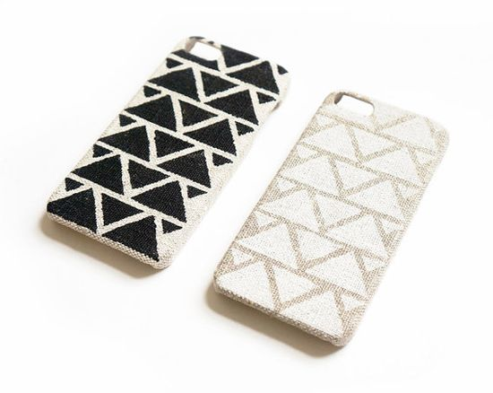 iPhone 5 case, iPhone 4 case, iPhone 4s case, Linen iPhone case, Geometric iPhone case, Unique iPhone case