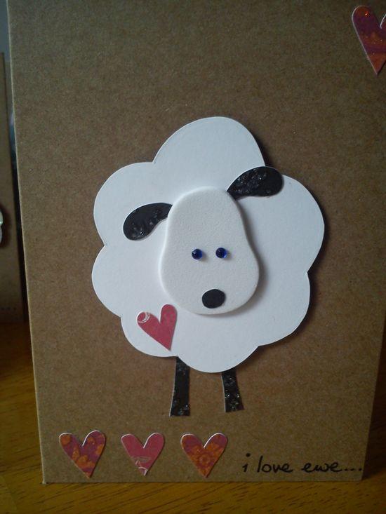 handmade cards (to put on Rita's board)