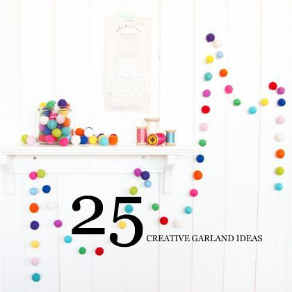 25 creative #party garlands