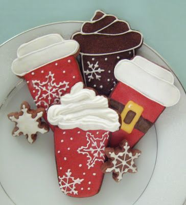 Christmas Latte Cookies