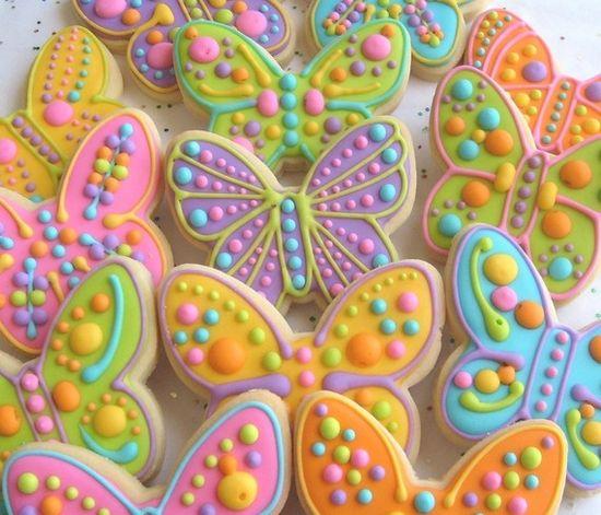 #butterfly #cookie @Lori Bearden Bearden Sume place
