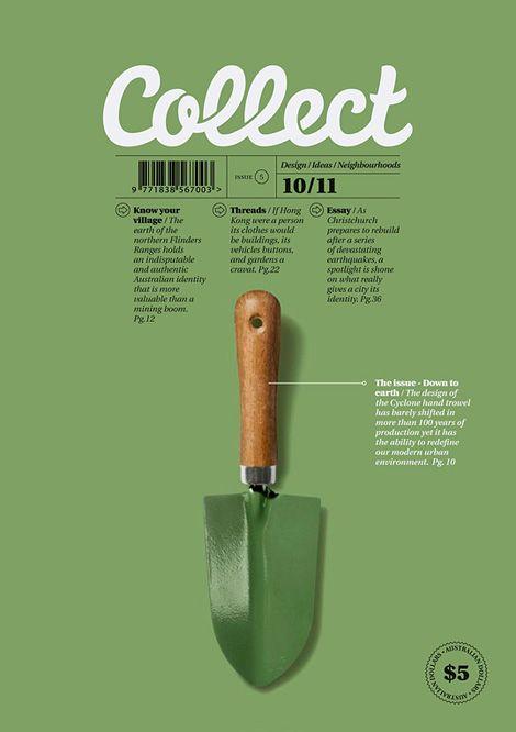 Collect #magazine #design