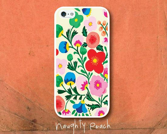 iPhone 5 Case, iPhone 5S Case - Colorful Flowers /  iPhone 5S Case, iPhone 5S Cover, Cover for iPhone 5S, Case for iPhone 5S
