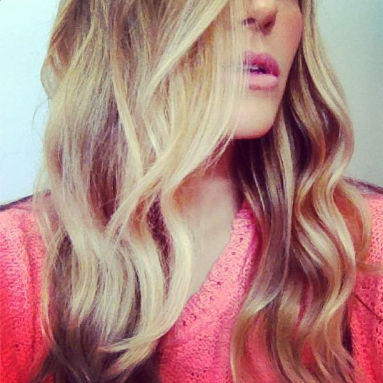We're in love with these beachy waves #hair #summer