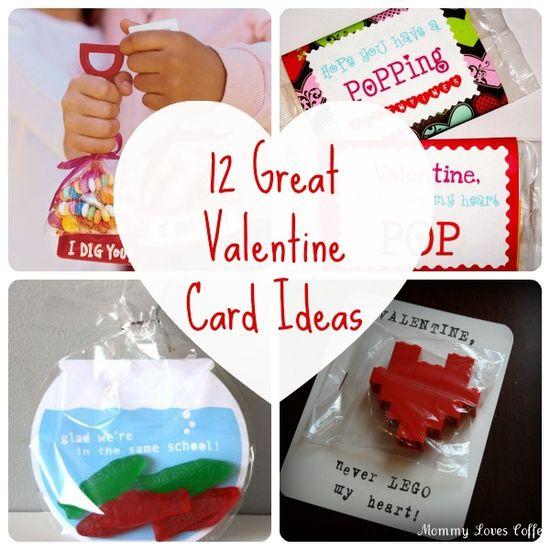 12 Cute Valentine's Kids Card Exchange