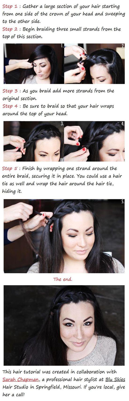 The Side Braid Hair Tutorial