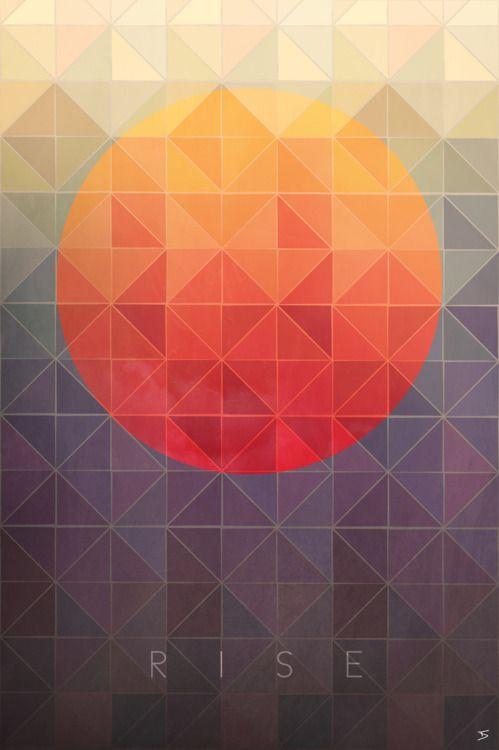Sun rise #Graphic #Design