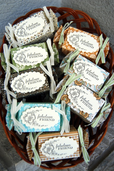 Spice cake candy wrapper Linda Knowles