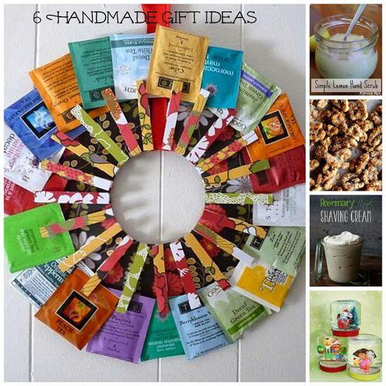 6 Handmade Gift Ideas
