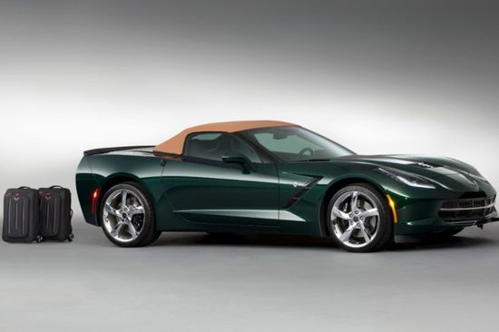 The Stingray Premiere Edition Convertible will be built in a limited run of 550 cars.