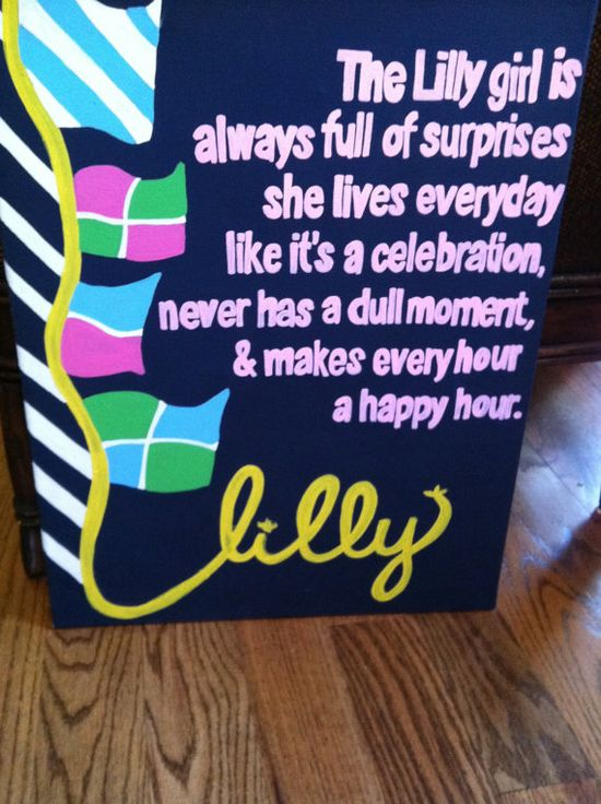 lilly pulitzer quote on canvas - etsy