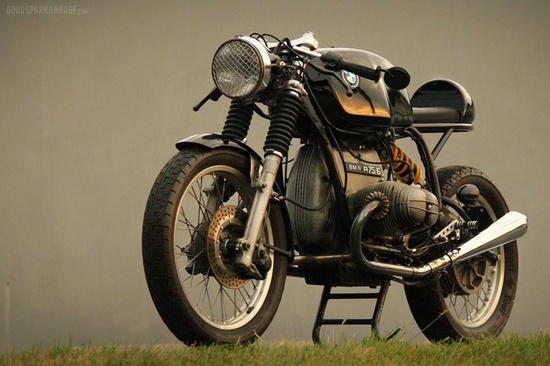 Modified 80's BMW R-Series Boxer Motorcycle