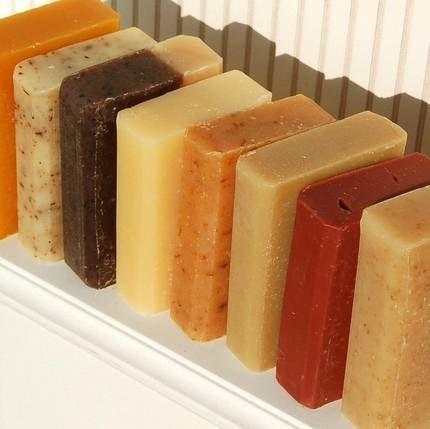 Organic handmade soap