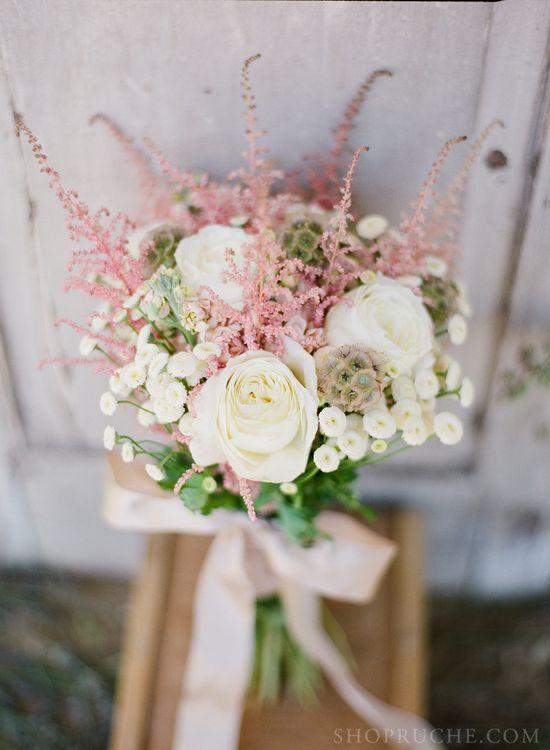 A soft and romantic #bouquet.