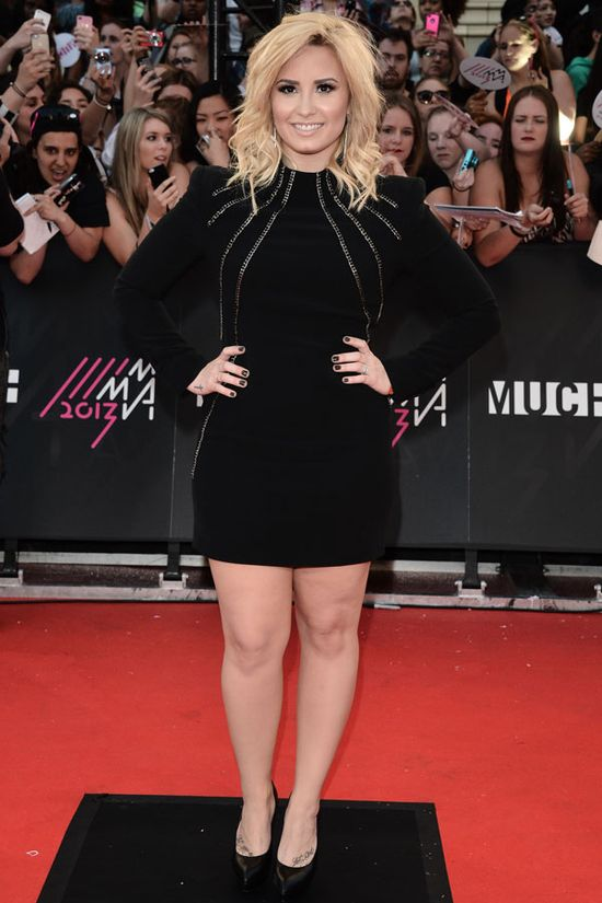 Demi Lovato in Saint Laurent at the MuchMusic Video Awards