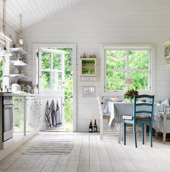 farmhouse style in kitchen