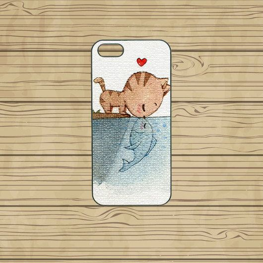 iphone 5C case,iphone 5S case,iphone 5S cases,iphone 5C cover,cute iphone 5S case,cool iphone 5S case,iphone 5C case,cute cat,in plastic  by Missyoucase, $14.95