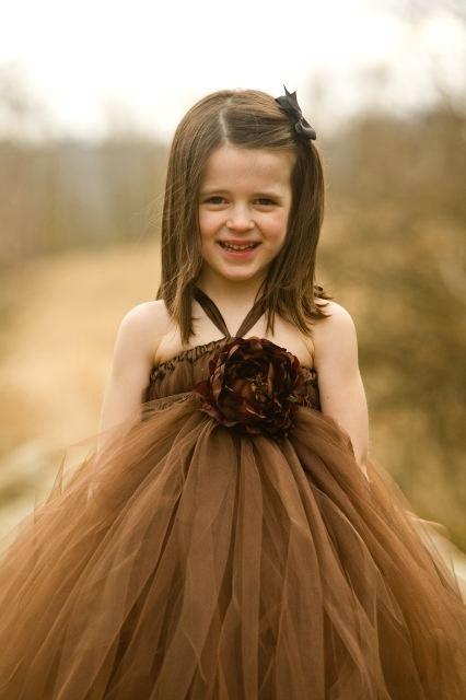 adorable tulle flower girl dress