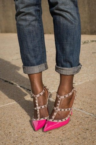 To-die-for Valentino pumps.