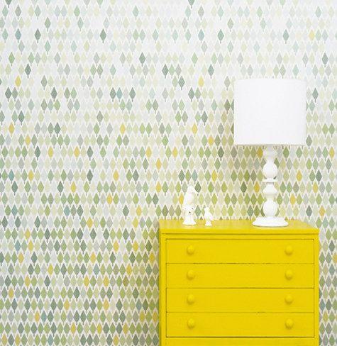 studio rita wallpaper via design*sponge