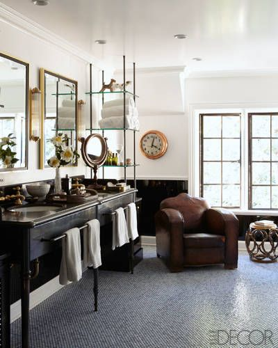 ERIK HYMAN AND MAX MUTCHNICK'S BEVERLY HILLS BATHROOM BY MELINDA RITZ