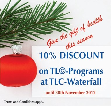 TLC-Waterfall is running a special during the month of November. For further details contact Sam 076... pinned with @PinvolveLove
