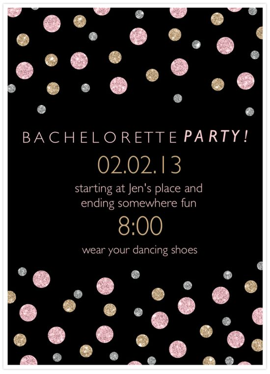 How to easily create bachelorette party invitations using @Martha Stewart CraftStudio App for the iPad! #diywedding