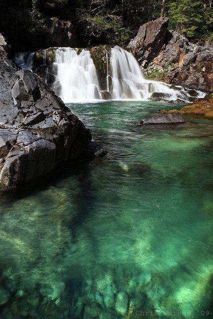 Oregon...Sawmill Falls, Opal Creek