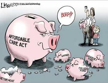 Affordable Health Care Piggy #obamacare
