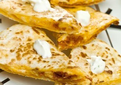 Yummy restaurant style quesadillas