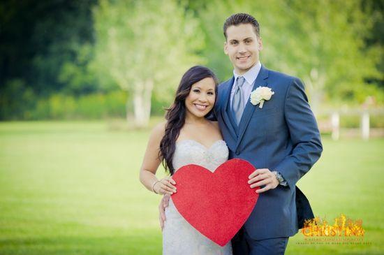 Heart Wedding Photo Inspiration