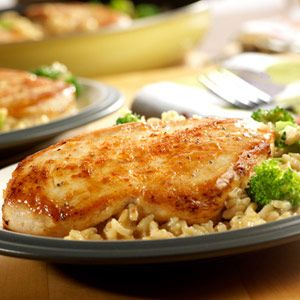 Quick and Easy Chicken, Broccoli & Brown Rice