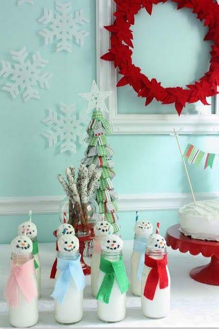 SO CUTE! Christmas in July Birthday Party! via @NestofPosies