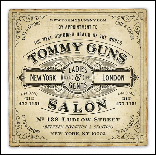 Hair cuts - vintage ephemera  advertisement