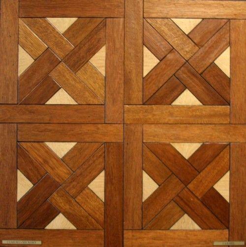 wood floor design.  very cool.