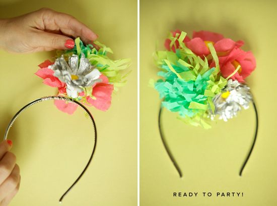 I will make these for little-girl party hats someday.  :-)