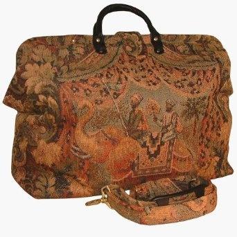 Elephant Adventure Tapestry Carpet Bag
