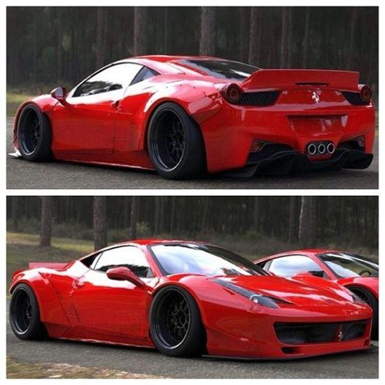 Ferrari 458 Widebody is gorgeous!
